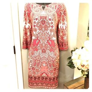 Beautiful mid dress with floral design